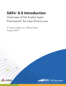 SAFe 4.5 Introduction white paper